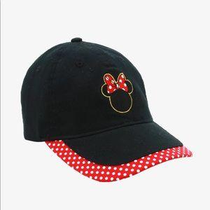 Minnie Mouse Disney Baseball Cap Hat